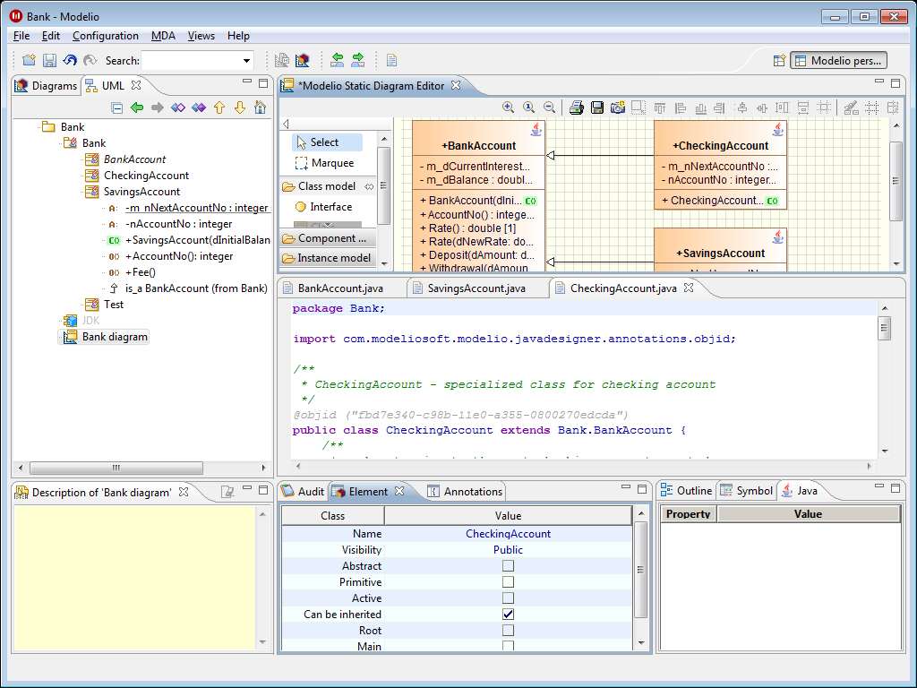 Generate Class Diagram From Java Code Eclipse - General ...