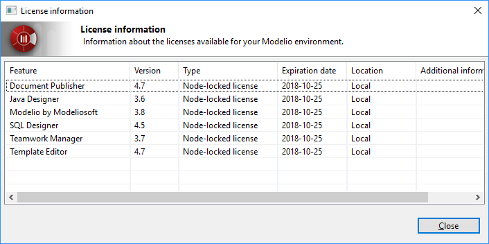 License error 13 - Requested feature version does not match