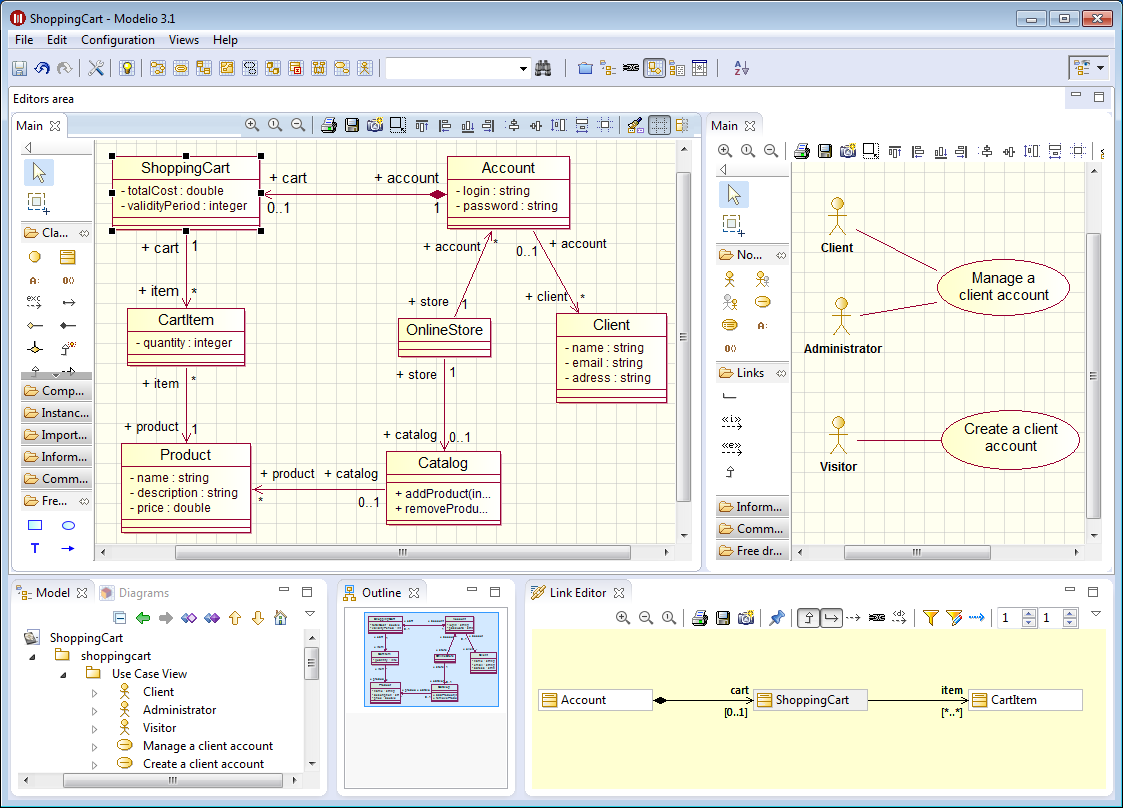 Modeliosoft rational rose to modelio benefit from improved modeling and generation capacities ccuart Choice Image